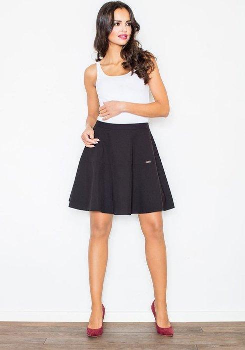 FIGL Černá áčková sukně M285 velikost  L  dc942b7a99