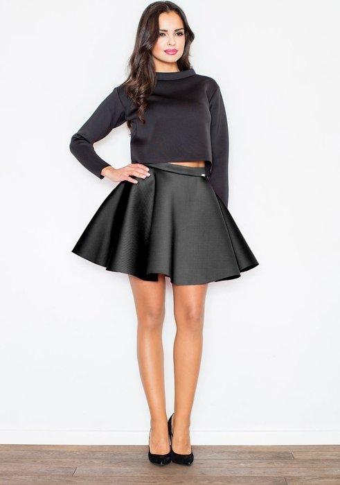 FIGL Dámská černá sukně M340 velikost  L  e53dff1e5f