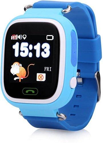 ... Helmer Chytré dotykové hodinky s GPS lokátorem a SIM kartou GoMobil s  kreditem 50 Kč LK 703 modré. + 11 dalších 32c4147d66