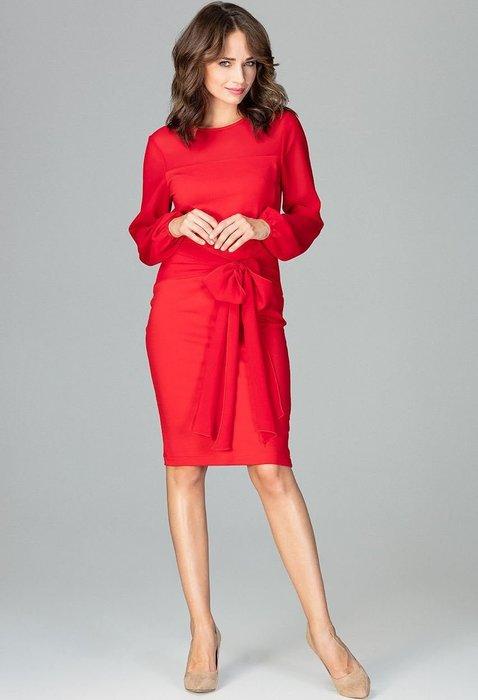 ... LENITIF Elegantní červené šaty K494 velikost  S. + 12 dalších caba3beda8