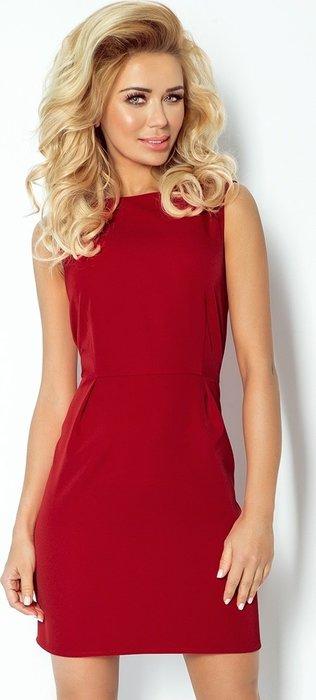 f39e00f7097 NUMOCO Dámské bordové šaty 103-4 velikost  L