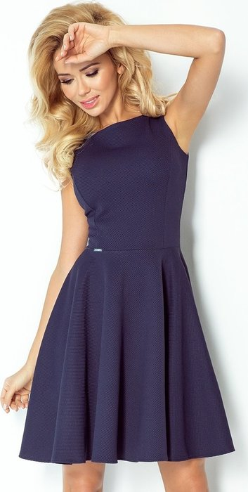 ... Dámské oblečení · Šaty  NUMOCO Elegantní modré šaty bez rukávů 98-1  velikost  L. Numoco. + 9 dalších 1513cc4851