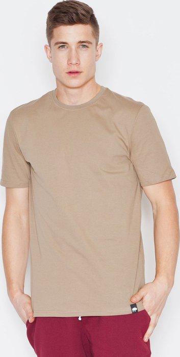 VISENT Béžové bavlněné tričko V001 Beige velikost  L  4db9868096